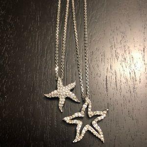 Swarovski stars necklace